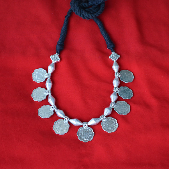 Dholki Coin Necklace