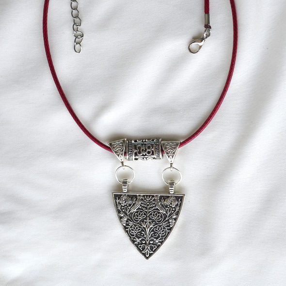 Chic Triangle Pendant Necklace