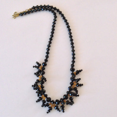 Beaded Crystal Necklace