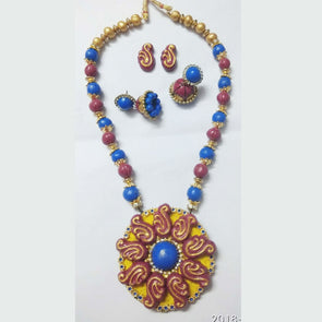 Terracotta Trendy Jewellery Set