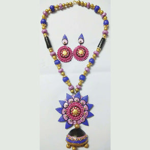 Terracotta Modern Jewellery Set