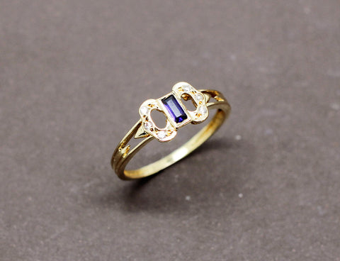 1910 : Solitaire Diamant