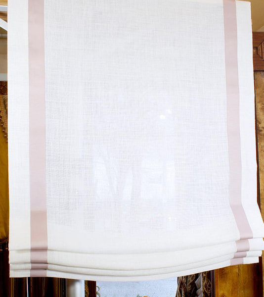 Relaxed Fabric Roman Shades