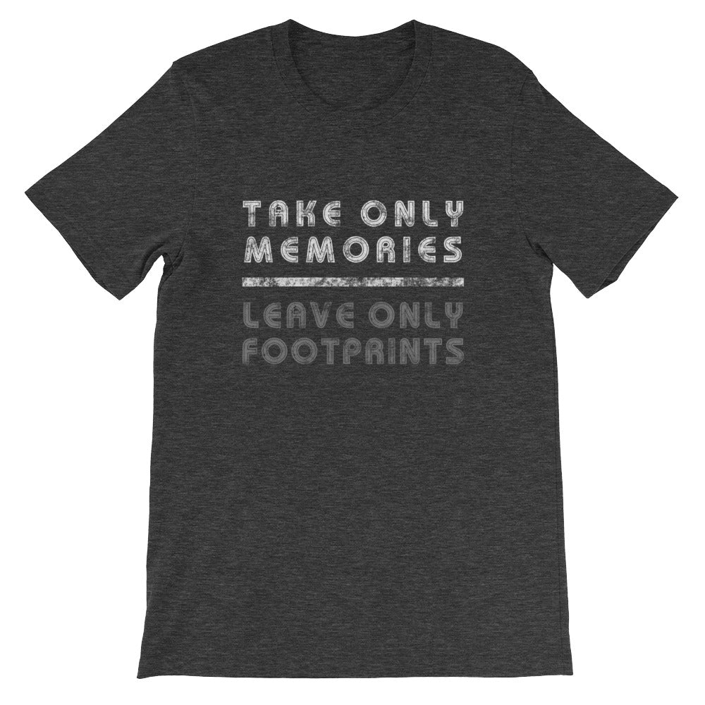 Leave Only Footprints - Short-Sleeve Unisex T-Shirt