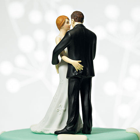 "Cheeky Couple Figurine ""My Main Squeeze""