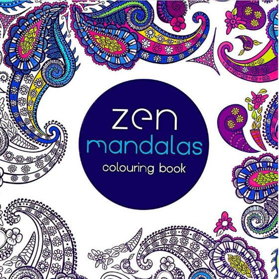 Coloriage mandalas 24 pages