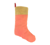 Candy Cane Christmas Stocking