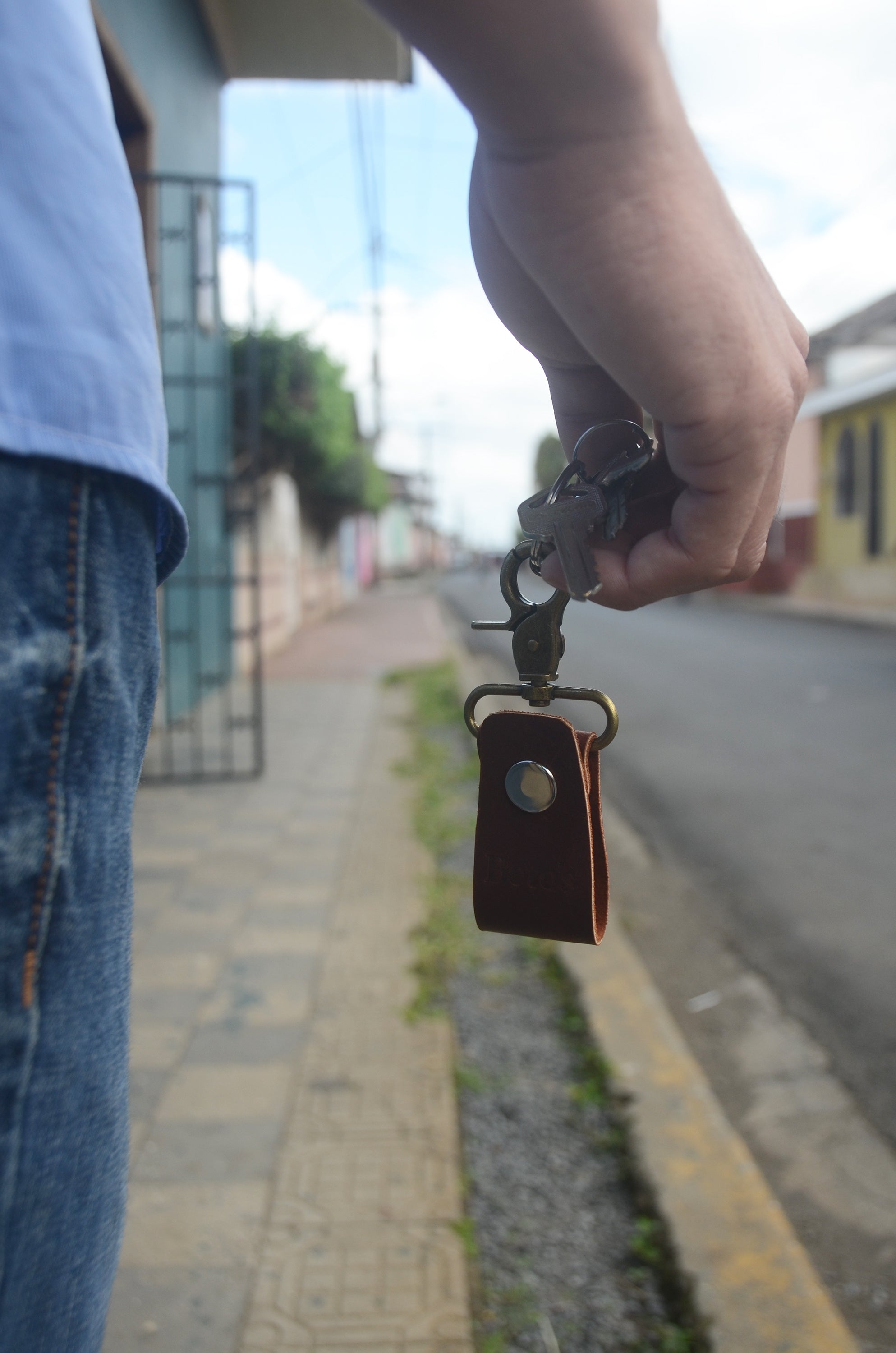 Men's keychain