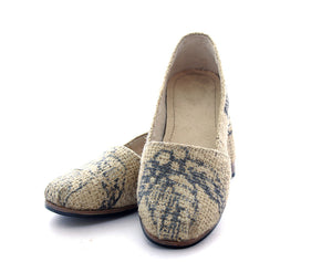 Women's Coffee Print Shoe