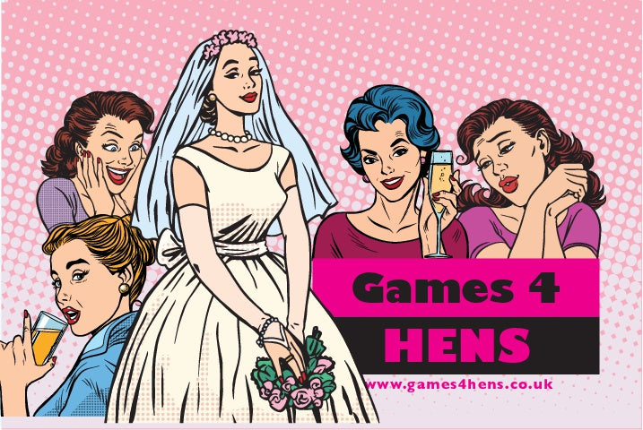 Games 4 Hens: Great Hen Party Games