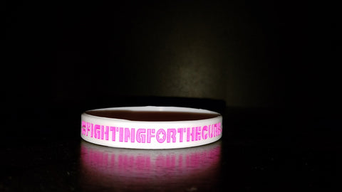 Breast Cancer Awareness Month wristbands for charity