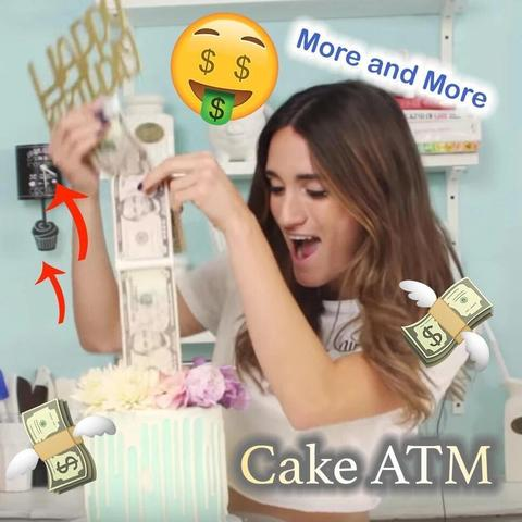 Cake Money Dispenser - FeelLifeStore