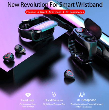 2 IN 1 Smartwatch and Ear Buds - FeelLifeStore