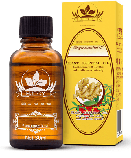 Lymphatic Drainage Ginger Oil - FeelLifeStore