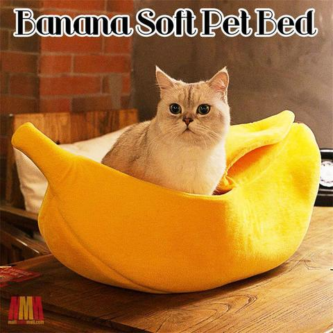 Banana Soft Pet Bed - FeelLifeStore