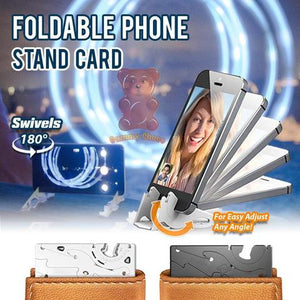 Foldable Phone Stand Card - FeelLifeStore