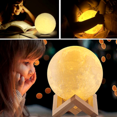3D Magical Mini Moon Lamp - FeelLifeStore