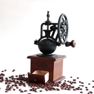 Manual Vintage Coffee Bean Grinder - FeelLifeStore