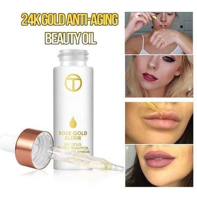 24K GOLD ANTI-AGING OIL - FeelLifeStore