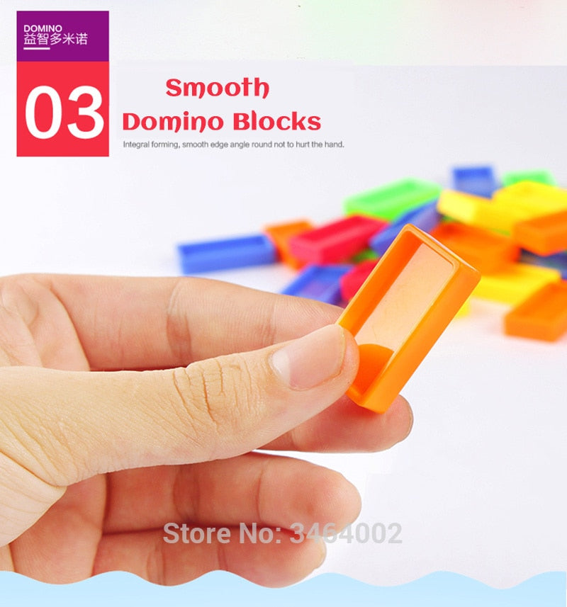 Automatic Domino Laying Toy Train - FeelLifeStore
