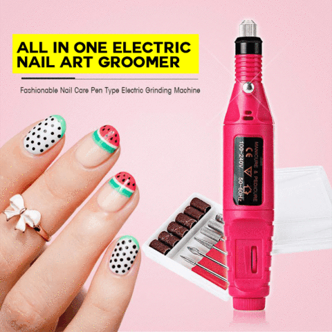 All in One Electric Nail Art Groomer Sharpener - FeelLifeStore