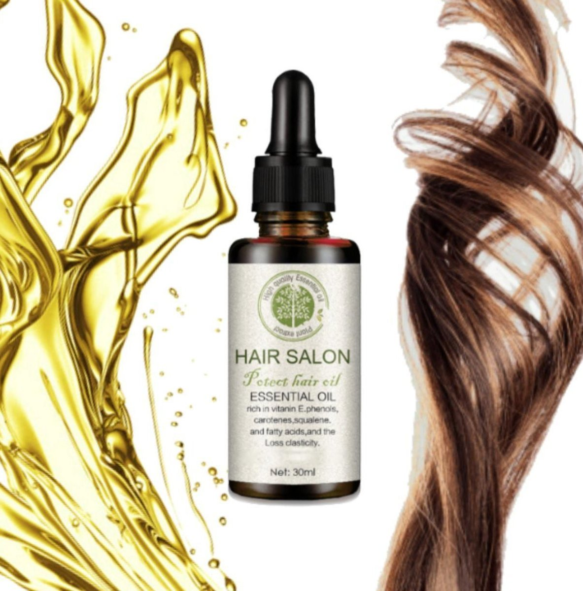 ALL-NATURAL HAIR REGROWTH SERUM - 56% OFF LAST DAY PROMOTION!