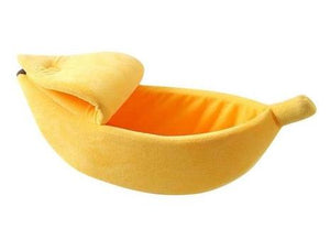 Banana Cave Pet Bed - FeelLifeStore