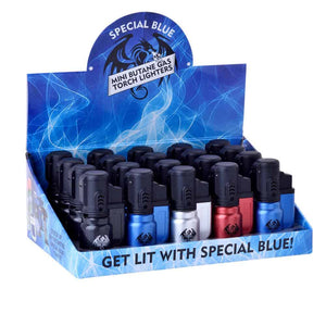 Special Blue-  Bullet Metal Lighter
