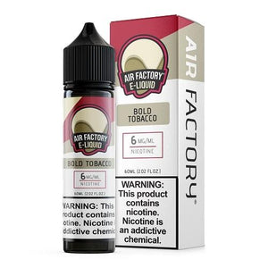 Air Factory E-Liquid 60ml - Bold Tobacco