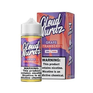 Cloud Nurdz E-Liquid - Grape Strawberry - MI VAPE CO