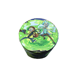 Grinder - 50mm Cartoon Character Rick and Morty