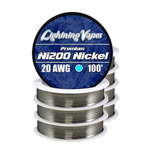 Lightning Vapes - Ni200 Nickel 100'