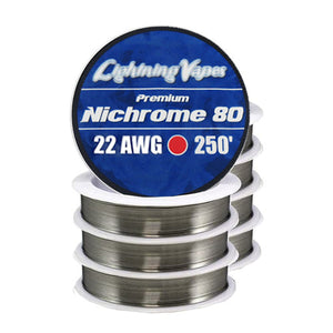 Lightning Vapes - Nichrome Rebuildable Wire 250'
