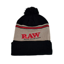 Load image into Gallery viewer, RAW - PomPom Hat