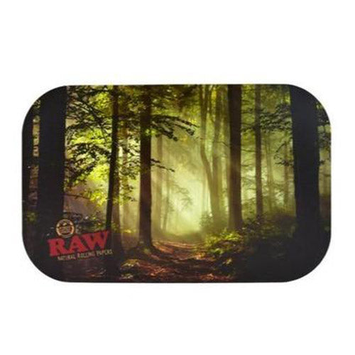 RAW - Rolling Tray Magnetic Cover Smoky Forrest