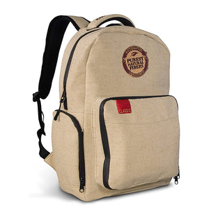 RAW - X Rolling Paper Burlap Backpack