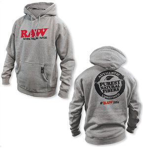 RAW - Men's OG Hoodie (Heather Grey)