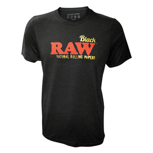 RAW - Black w/ Gold Foild Lettering T-Shirt