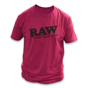 Raw Apparel - T Shirt Maroon