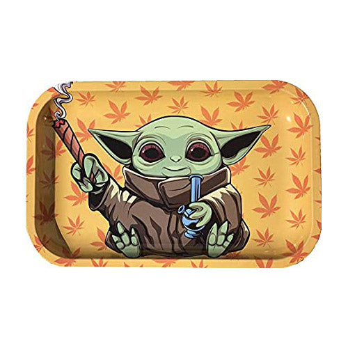 Rolling Tray - Small Metal Tray