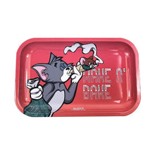 Load image into Gallery viewer, Rolling Tray - Small Metal Tray