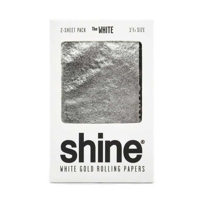 Shine Papers - White Gold 1 1/4 2 Count Rolling Paper - MI VAPE CO