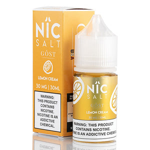 Gost Vapor - Nic Salt Lemon Cream