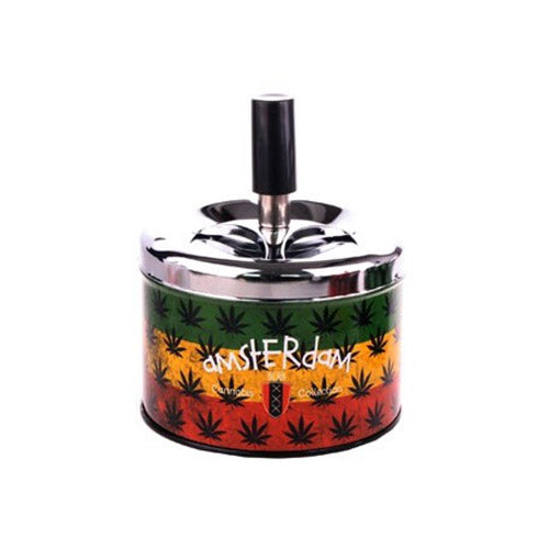 Rasta Spinning Ashtray