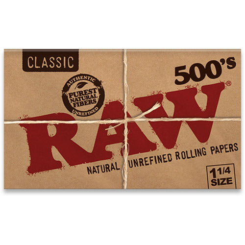RAW Rolling Papers - Classic 500's 1 1/4