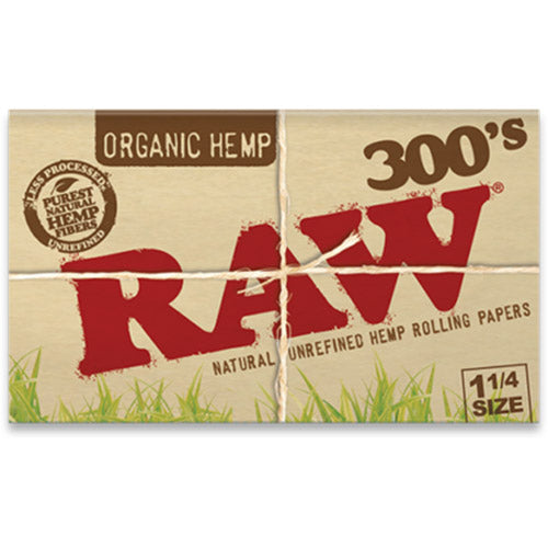 RAW Rolling Papers - Organic Creaseless