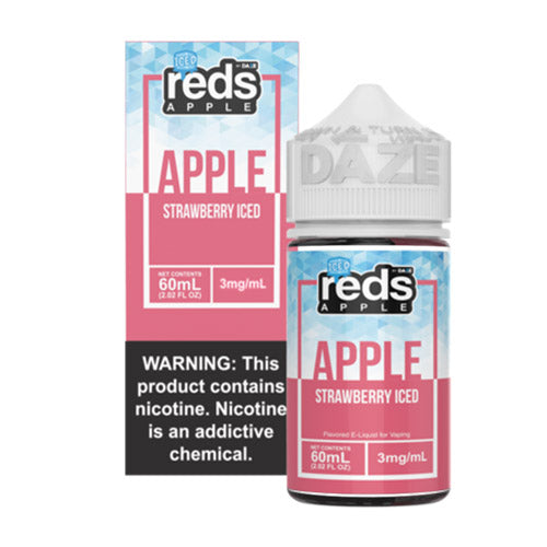 Reds E-Liquid - Strawberry Iced