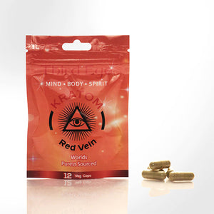 Third Eye - Red Vein Kratom Capsules
