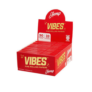 Vibes - Hemp Rolling Papers