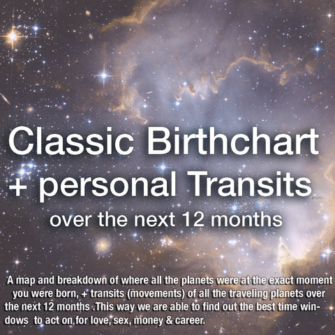 Birth Chart + Transits